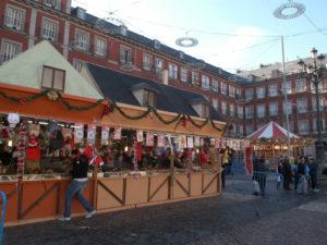 Mercadillo de Navidad 2020 | Plaza Mayor | Madrid | 27/11-31/12/2020 | Foto: Ayuntamiento de Madrid