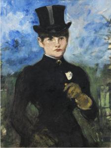 #VersionaThysse 8ª edición   Museo Nacional Thyssen-Bornemisza   Madrid   'Amazona de frente' (c. 1882) de Édouard Manet