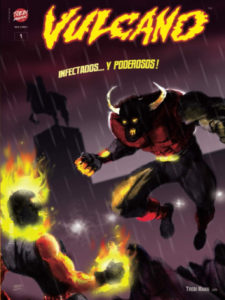 Vulcano #1 | Trebi Mann | Nueva edición 2020 de los superhéroes europeos | Portada