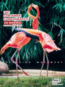 34º Certamen Coreográfico de Madrid | 09-13/12/2020 | Centro de Cultura Contemporánea Condeduque | Cartel