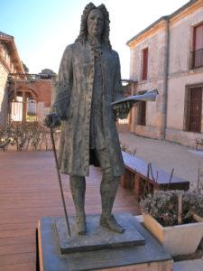 Estatua de Juan de Goyeneche y Gastón   Nuevo Baztán   Comunidad de Madrid