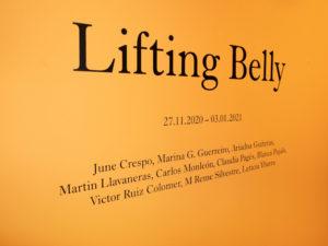 Lifting Belly | 27/11/2020-03/01/2021 | CentroCentro | | Palacio de Cibeles | Madrid | Cartel | © Benedetta Mascalchi