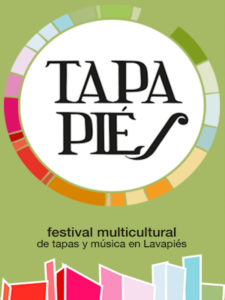 Tapapiés 2020 | Concurso de Tapas Internacionales Gourmet | Barrio de Lavapiés | Madrid | 17-25/11/2020 | Cartel