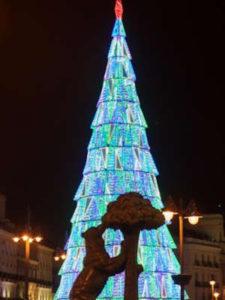 3 rutas navideñas del Ayuntamiento de Madrid   Navidad 2020-2021 Árbol de la Puerta del Sol
