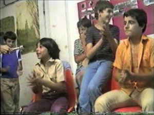 Condeduque arranca 2021 con variedad de actividades culturales | 'Aquells joves' (Los jóvenes del barrio) de Ferrán Andrés | 20/01/2021