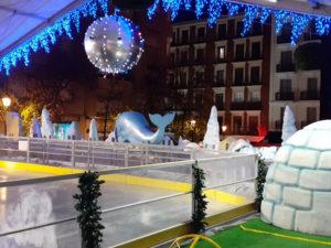 Feria de Navidad Reina Sofía Christmas | 05/12/2020-10/01/2021 | Plaza de Juan Goytisolo | Pista de hielo