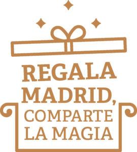 Regala Madrid, comparte la magia | Campaña navideña | Ayuntamiento de Madrid | Diciembre 2020 | Logo