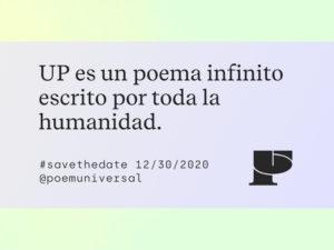 Universal Poem | Un poema infinito de la humanidad | 30/12/2020 | @poemuniversal