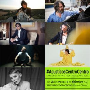 #AcusticosCentroCentro   Nuevo ciclo de conciertos en CentroCentro   Palacio de Cibeles   Madrid   Artistas