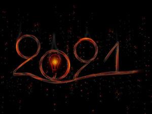 Feliz Año Nuevo 2021   Foto: Lumapoche @ Pixabay