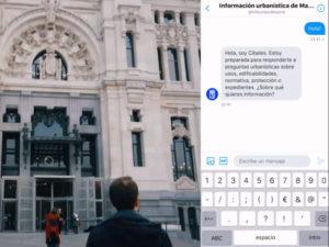 Prototipo Cibeles   Proyecto de inteligencia artificial del Ayuntamiento de Madrid para facilitar el acceso a la información urbanística   Palacio de Cibeles