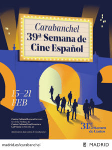 39ª Semana de Cine Español de Carabanchel | 15-21/02/2021 | Carabanchel | Madrid | Cartel