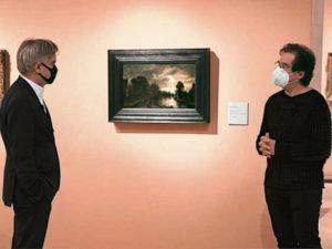 Claro de luna con un camino bordeando un canal | Hacia 1645-1650 | Aert van der Neer | Museo Nacional Thyssen-Bornemisza | Madrid | Alberto Reguera y Guillermo Solana