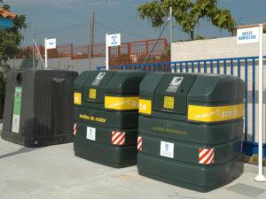 Madrid tiene su punto | Campaña para fomentar el uso de los puntos limpios | Ayuntamiento de Madrid | Punto limpio fijo de Vicálvaro