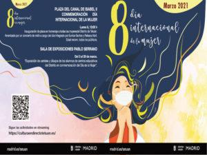 Día Internacional de la Mujer 2021 | 8 de marzo | Tetuán | Madrid | Cartel programación