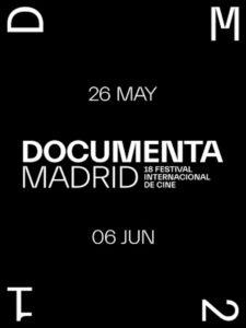 Documenta Madrid 2021   18 Festival de Cine de Madrid   26/05-06/06/2021   Cineteca Madrid   Cartel
