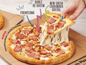 Domino's Pizza abre en Villa de Vallecas   Madrid   Parmesana Carbonara
