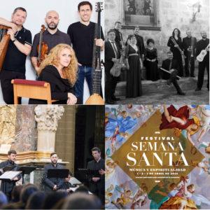 Festival de Semana Santa 2021 | Teatro Auditorio | 1, 2 y 3/04/2021 | San Lorenzo de El Escorial | Comunidad de Madrid