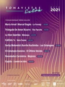 Tomavistas Extra 2021   Parque Enrique Tierno Galván   21-30/05/2021   Arganzuela   Madrid   Cartel