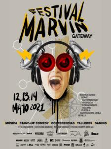 Festival Marvin Gateway 2021 | Argentina, Chile, España, Estados Unidos, México, Suecia | 12. 13 y 13/05/2021 | Cartel