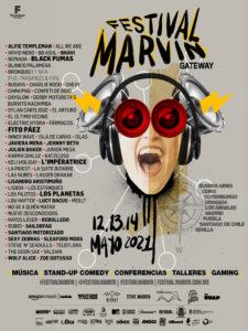 Festival Marvin Gateway 2021 | Argentina, Chile, España, Estados Unidos, México, Suecia | 12. 13 y 13/05/2021 | Cartel 'line up'