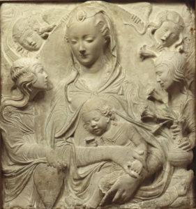 Tesoros de la colección de la familia Thyssen-Bornemisza   Agostino di Duccio   'La Virgen con el Niño y cuatro ángeles' (hacia 1465-1470)   Thyssen-Bornemisza Collections