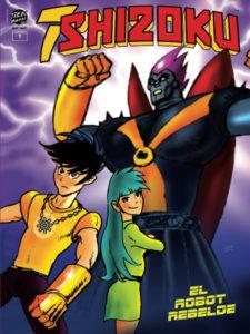 7SHIZOKU #1 | El robot rebelde | El manga de Trebi Mann | Portada