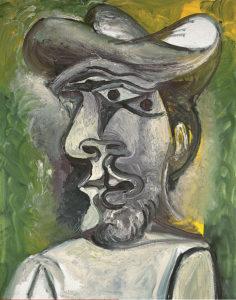 Busto de Picasso (1971)   Colección Abelló   Foto: Joaquín Cortés   © Sucesión Pablo Picasso Vegap 2021