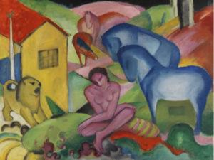 Día Internacional de los Museos 2021 | 18 de mayo | Entrada gratuita al Museo Thyssen | Franz Marc | 'El sueño' (1912) | © Museo Nacional Thyssen-Bornemisza, Madrid