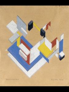 Día Internacional de los Museos 2021 | 18 de mayo | Entrada gratuita al Museo Thyssen | Theo van Doesburg | 'Construcción espaciotemporal II' (1924) | © Museo Nacional Thyssen-Bornemisza, Madrid