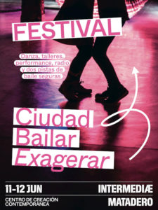 Festival Ciudad Bailar 2021 | Intermediae Matadero | 11 y 12/06/2021 | Arganzuela | Madrid | Cartel
