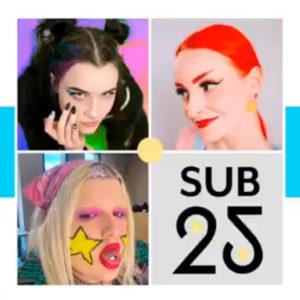 Festival La Sub 25 | Concurso de logos | 21Distritos | Ayuntamiento de Madrid