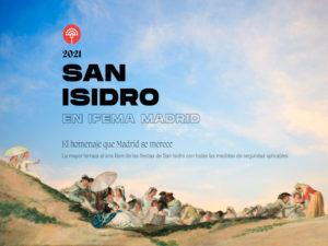 San Isidro en IFEMA Madrid 2021 | El homenaje que Madrid se merece | 13-16/05/2021 | IFEMA Madrid | Barajas | Cartel