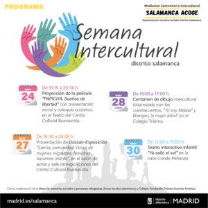 Semana Intercultural   Distrito Salamanca   24-30/05/2021   Salamanca (Madrid)   Programa