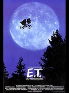 Cine de Verano 2021   Distrito Salamanca   2/07-3/09/2021   Parque Eva Duarte   Madrid   Cartel de E. T. el Extraterrestre