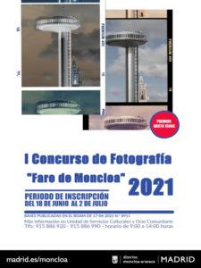 Concurso de Fotografía Faro de Moncloa 2021 | Moncloa-Aravaca | Madrid | Cartel