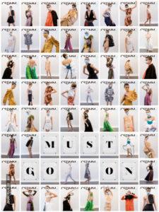 CSDMM Must Go On | 15-27/06/2021 | Exposición de jóvenes creadores de moda de Madrid | Cartel
