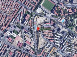 Parque Juan José García Espartero | Palomeras Bajas | Puente de Vallecas | Madrid | Plano Google Maps