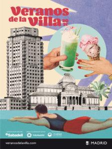 Veranos de la Villa 2021 | Ayuntamiento de Madrid | 06/07-29/08/2021 | Cartel de Lara Lars