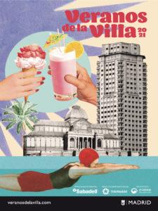 Veranos de la Villa 2021 | Ayuntamiento de Madrid | 06/07-29/08/2021 | Cartel Lara Lars