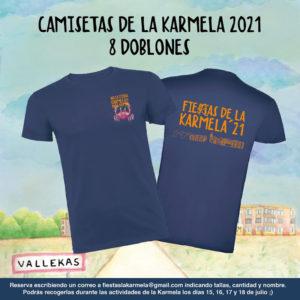 Camisetas de la Karmela 2021   Fieras de la Karmela'21   Puente de Vallecas