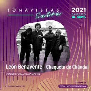Concierto de León Benavente y Chaqueta de Chándal   Tomavistas Extra   18/09/2021   Recinto Feria IFEMA Madrid