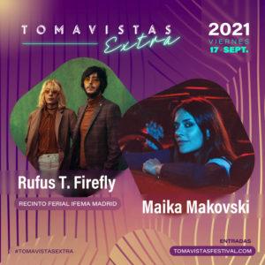 Concierto de Rufus T. Firefly y Maika Makovski   Tomavistas Extra   17/09/2021   Recinto Ferial IFEMA Madrid