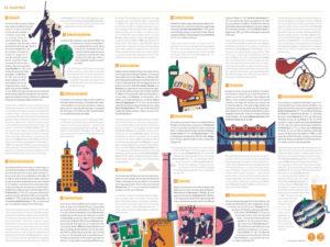 Mapa Cultural Ilustrado 'El Rastro' | Daniel Diosdado | Ayuntamiento de Madrid 2021 | Propuestas