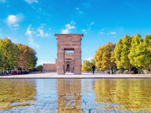 Protección del paisaje urbano de Madrid | Consulta pública | 28/06-12/07/2021 | Decide Madrid | Templo de Debod (Madrid)